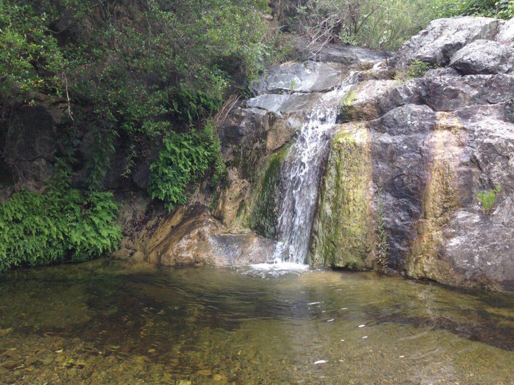 Cascata Mulino Vecchio Macchia della Magona Bibbona