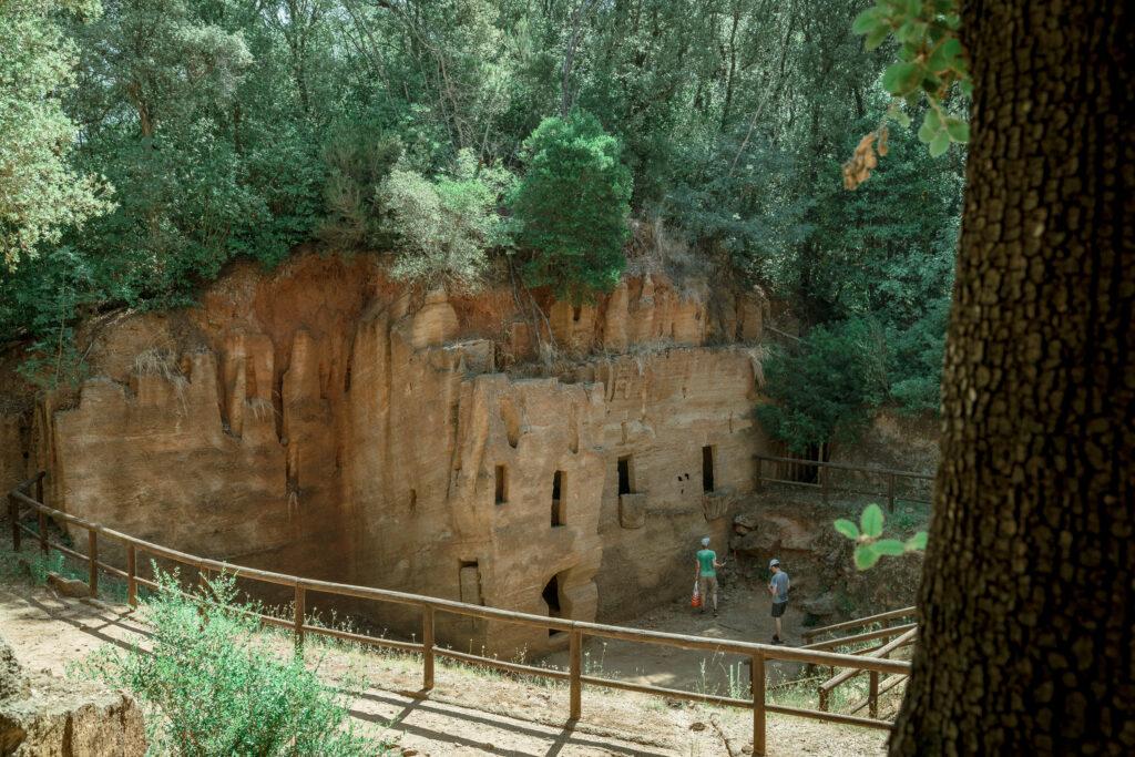 Parco archeologico di Baratti e Populonia Necropoli delle Grotte