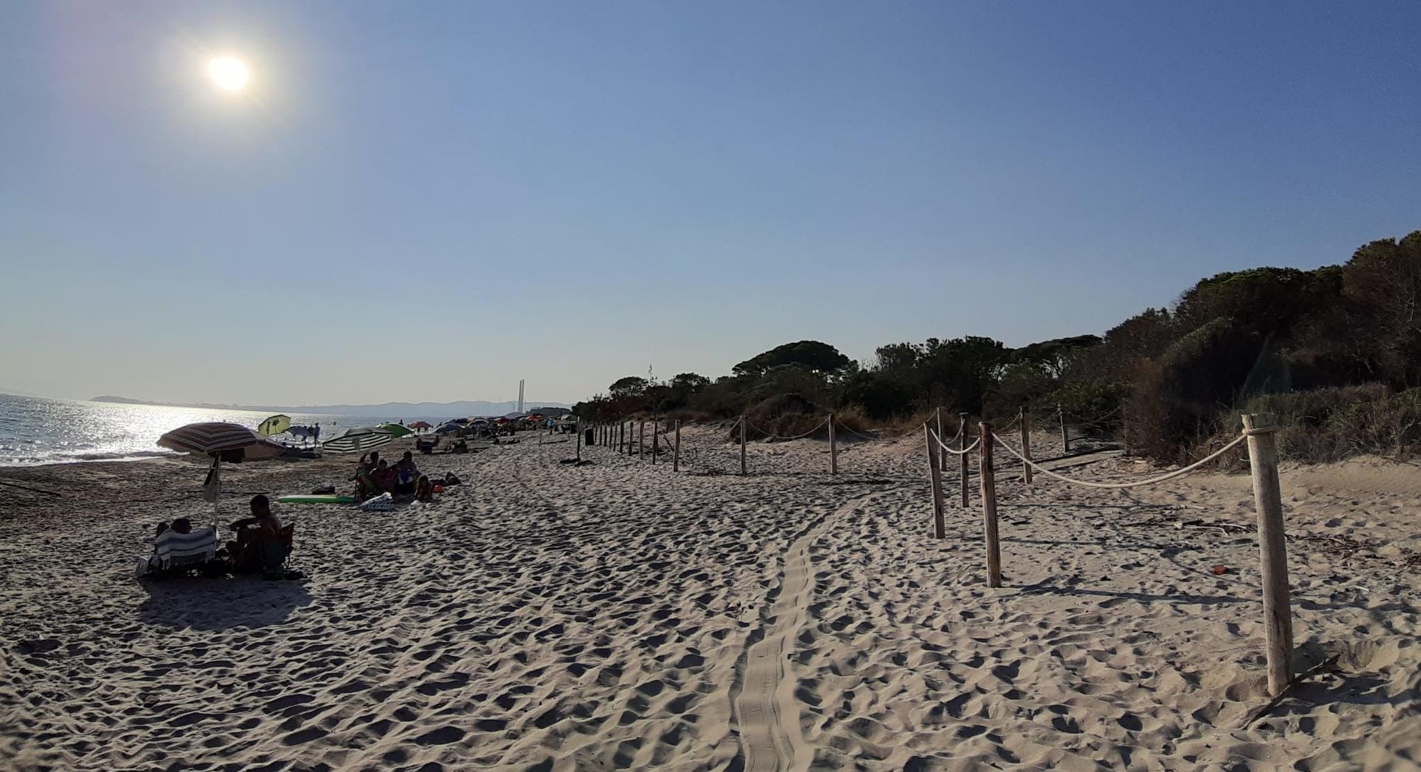 Parco costiero della Sterpaia spiaggia