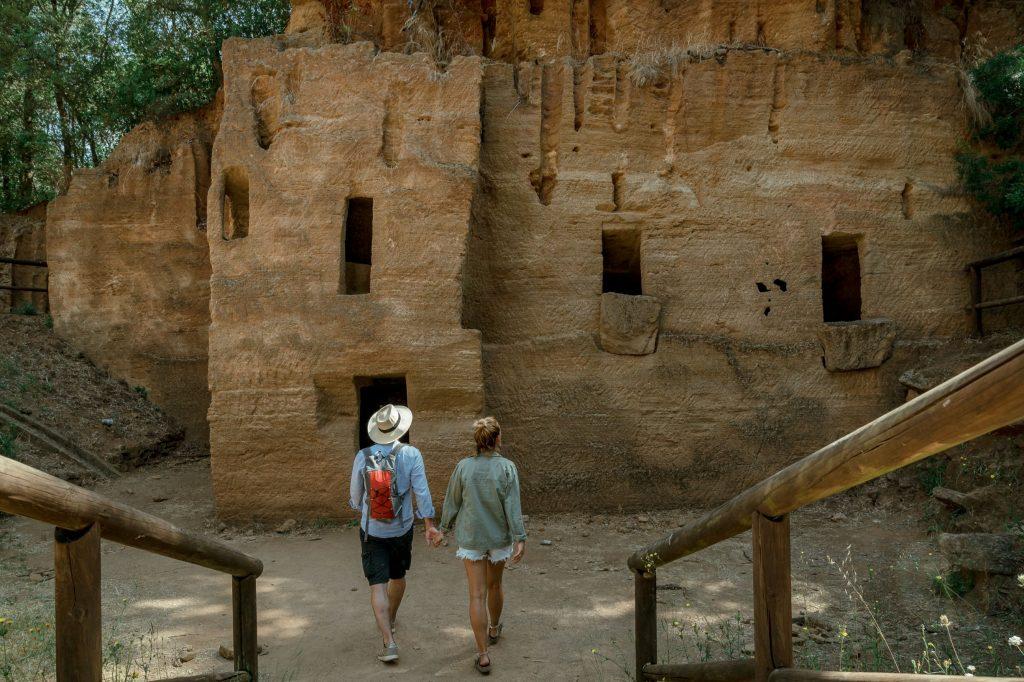 Parco archeologico di Baratti necropoli